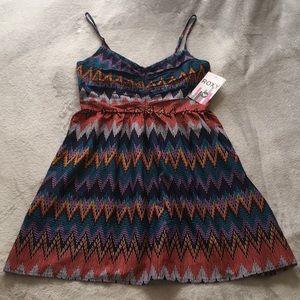 Roxy Colorful Short Summer Dress